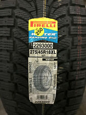 1 New 275 45 18 Pirelli Winter Carving Edge Snow Tire