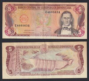 Republica Dominicana 5 pesos oro 1990 BB+/VF+  A-10