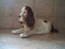 SylvaC Pottery No 114: Brown & White Spaniel