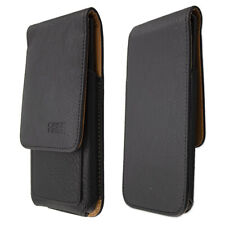 caseroxx Flap Pouch for Nokia 7.2 in black made of real leather