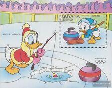 Guyana Block153 (kompl.Ausg.) postfrisch 1991 Walt Disney Figuren