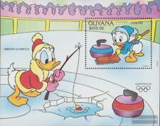 guyana Bloc 153 (complète edition) neuf avec gomme originale 1991 walt disney pe