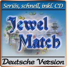 Jewel Match Deluxe - PC-Spiel - Deutsche Version - 3-Gewinnt