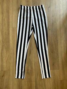 SHEIN High Waist Striped Leggings size S 8