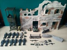 1:18 Scale World Peacekeepers Battlefield Playset And Lookout Tower Complete...