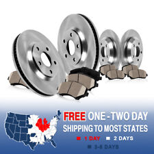 Front and Rear Brake Rotors & Ceramic Pads For BMW X5 E53 3.0i 4.4i