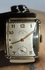 Vintage Men's Lord Elgin Tank 21j Wristwatch
