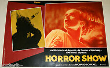 fotobusta film HORROR SHOW Anthony Perkins PSYCO Elsa Lanchester FRANKENSTEIN