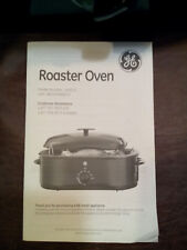 GENERAL ELECTRIC ROASTER OVEN MODEL# 169221