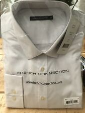 Mens French Connection White Shirt XL BNWT