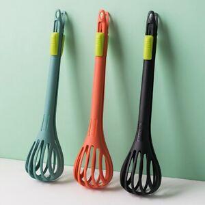 Hand Stirrer Whisk Egg Kitchen Beater Home Blender Whipping Mixer Nylon.