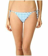 Marc by Marc Jacobs Clem Side Tie Bikini Bottoms Conch Blue NWT $88 Small S (6)