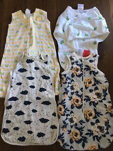 Baby Sleeping Bags Sleep Sack 0-6 Months Bulk Mixed Lot Aden & Anais, Target...