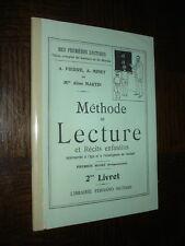 METHODE DE LECTURE ET RECITS ENFANTINS - A. Pierre A. Minet A. Martin 1945