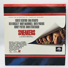 Sneakers Laserdisc Robert Redford