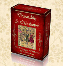 315 Vintage Needlework Books Dressmaking Sewing Pattern Craft Embroidery DVD 260