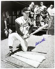 1954-56 Eddie Mathews MKE Braves Young Autograph Hunter Signed 16x20 Photo (JSA)