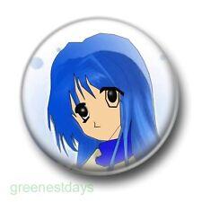 Anime Girl 1 Inch / 25mm Pin Button Badge Manga Comic Books Animation Otaku Cute