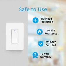 Smart Switch WIFI Light For Alexa Google Home IFTTT With Remote Control&Schedule