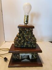 Fireplace Lamp In Collectible Table Lamps For Sale Ebay