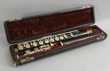 Antique Circa 1900s The Martin Band Instrument Company Wood Flute, NR
