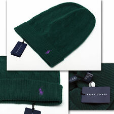 $75 RALPH LAUREN Men's WOOL / CASHMERE HAT with Price Tag