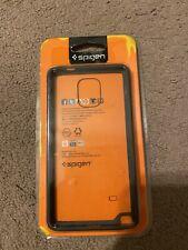 [BRAND NEW] Spigen Ultra Hybrid Bumper Case Galaxy Note 4 Gunmetal (SGP11115)
