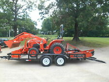 L3301D Kubota 4wd Tractor/Loader/ New Trailer/New BushHog and Boxblade