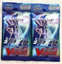2x Cardfight Vanguard Comic Style Vol 1 Extra Booster Pack EB01 ENGLISH  5cd/pk