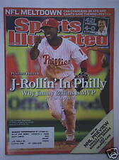 JIMMY ROLLINS Phillies 2007 SPORTS ILLUSTRATED