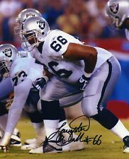1- LANGSTON WALKER OAKLAND RAIDERS 8X10 PRINT AUTO PHOTO