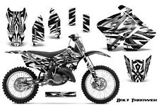 SUZUKI RM 125 250 Graphics Kit 2001-2009 CREATORX DECALS BTWBNP
