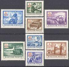 UNGHERIA 1973 spese di spedizione a causa del trasporto// Treno/Moto/Piano/Furgone/Scale 8 V (n34743)