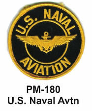 """3"""" U.S. NAVAL AVTN Embroidered Military Patch"""
