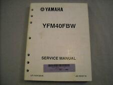 2007 Yamaha Service Manual ATV Big Brear 400 YFM40FB LIT-11616-20-45