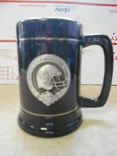 HTF NFC Champions 2000 NY Giants Black Mug with 3D Pewter Emblem