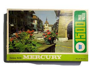 Vintage Whitman Puzzle Mercury Series 7439 Murten, Switzerland 1500 Piece