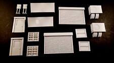 Infinity 3D printed terrain accessories x 2, windows doors and more