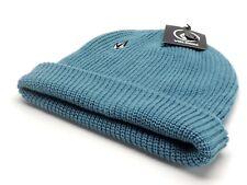 Volcom Full Stone Beanie Blue Men's Knit Winter Hat Ski Snowboard New! NWT
