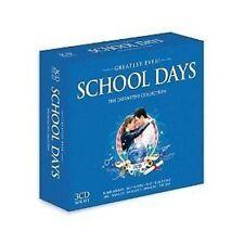 Greatest Ever School Days 3-CD Box NEW SEALED Jam/James/Pulp/Motorhead/ABC/M+
