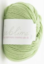 Sublime Baby Cashmere Merino Silk DK 50g - 45 Colours - Complete Range 527 Diddy Dino