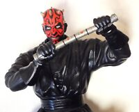 """Darth Maul 1999 Star Wars 12"""" Electronic Action Figure Toy - WAG60"""