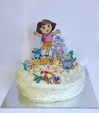 DORA THE EXPLORER  edible 3d cake topper scene decoration set