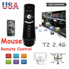 Wireless 2.4G USB Receiver Voice Remote Control For Smart TV Android Box PC US