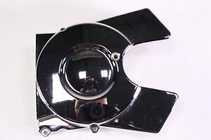 06 Hyosung GV 650 Avitar Left Side Engine Motor Cover Chrome