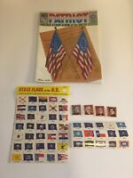1977 PATRIOT Postage Stamp Album of the United States, Excellent Condition!