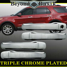 2011 2012 2013 2014 2015 16 17 18 2019 FORD EXPLORER Chrome Door Handle Covers