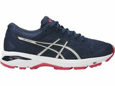 ASICS WOMEN'S GT-1000 6 RUNNING SHOES | NAVY WHITE PINK | Size 6.5