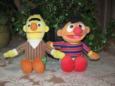 Lot of 2 Sesame Street Dolls BERT & ERNIE Fisher Price