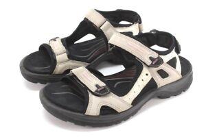 womens beige ECCO yucatan receptor sandals hiking trail sport US 9 M